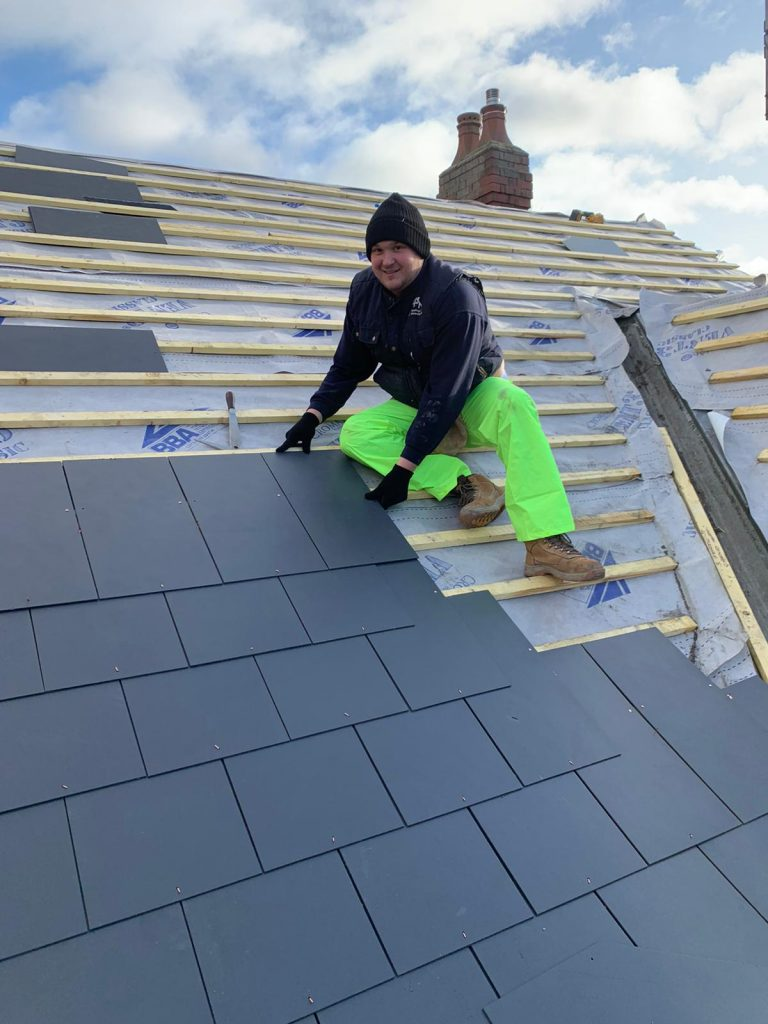Experienced slate roof tiling experts in Stourbridge